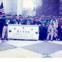 A.O.H. Division 23 at St. Patrick's Day Parade (1997)