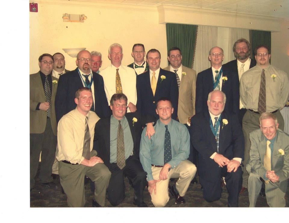 A.O.H. Division 23 Officers at the 100th Anniversary Dinner (2003)