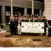 A.O.H. Division 23 at St. Patrick's Day Parade (1992)
