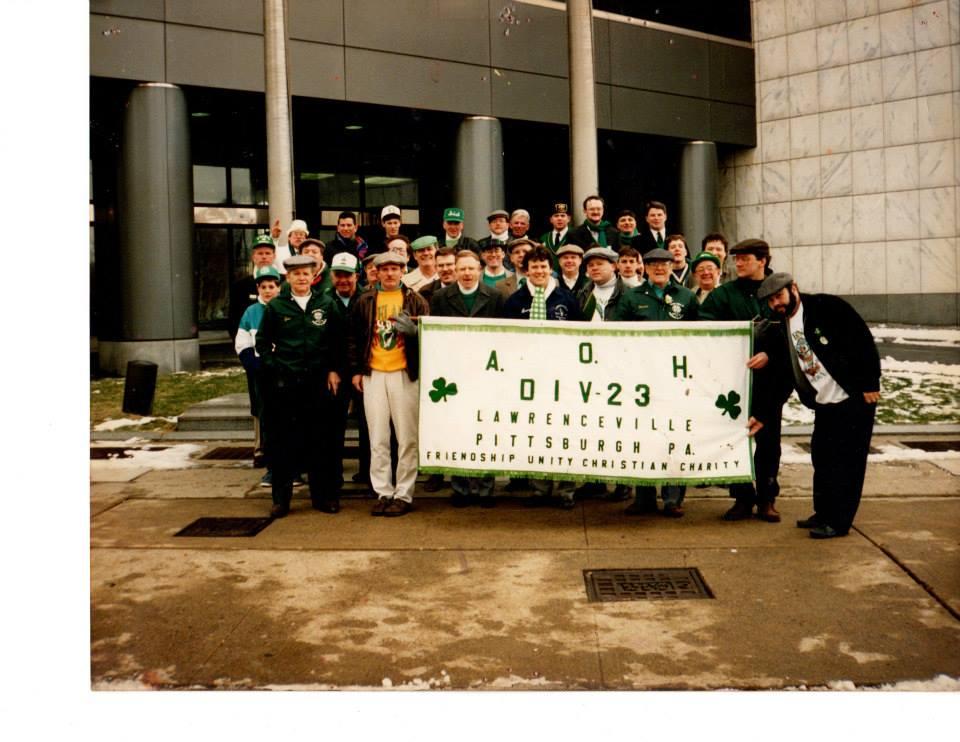 A.O.H. Division 23 at St. Patrick's Day Parade (1992)
