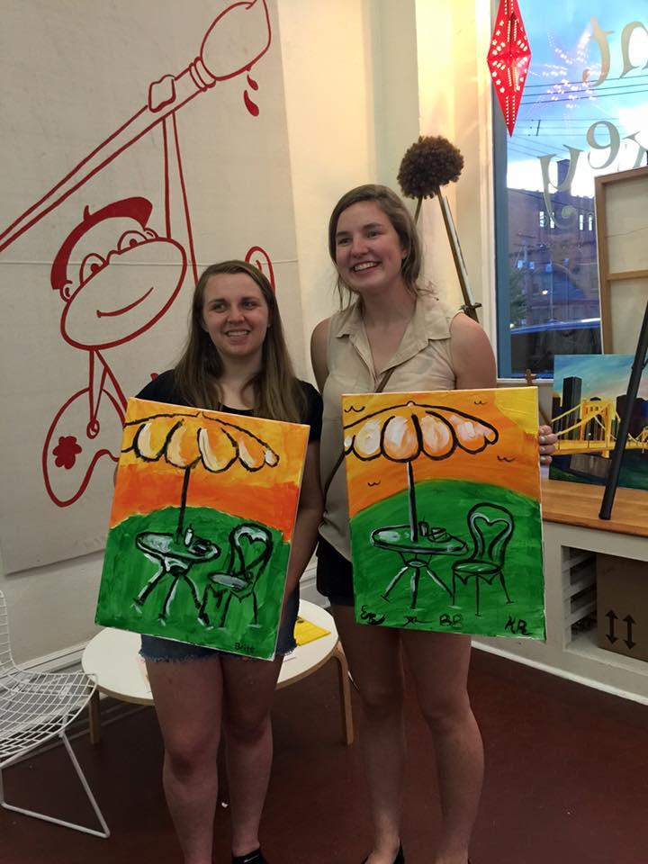 Paint Monkey Fundraiser
