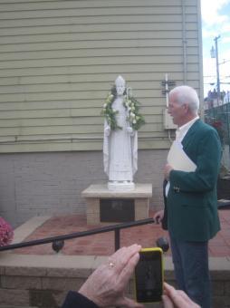 St. Kieran Statue Dedication
