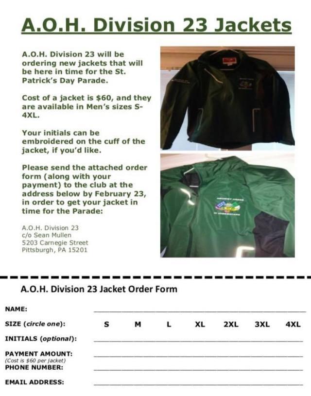 AOH jackets