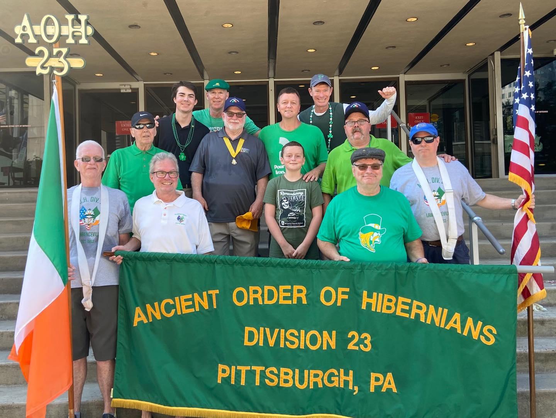 Men's Division 23 Half way St. Patrick's Day Parade